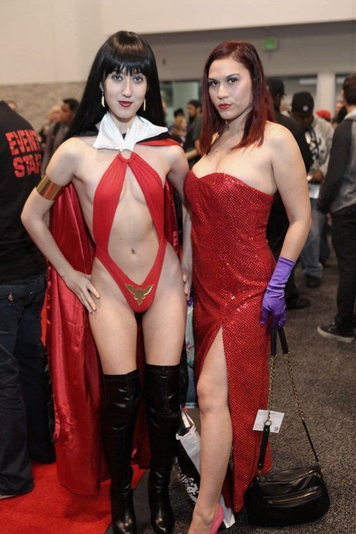 Vampirella and Jessica Rabbit; Uniform