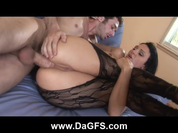 naughty anal fuck and creampie