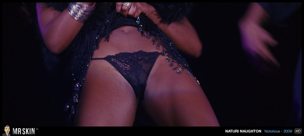 Naturi Naughton flashes her panties; Celebrity Panties