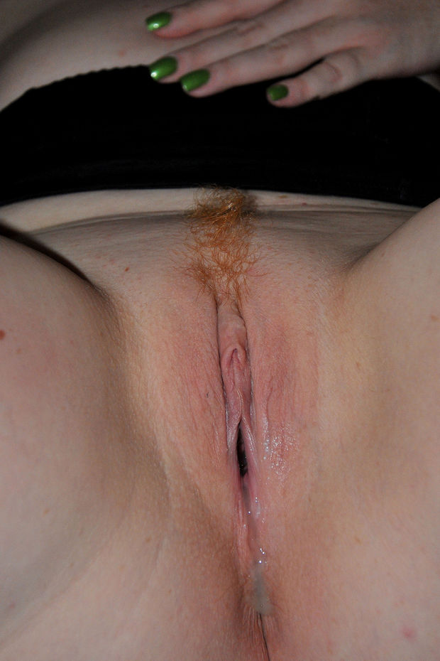 All internal redheaded gets her pussy filled by 2 cocks 10
