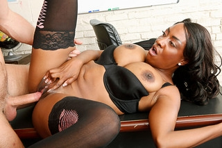 Danny Wylde & Sincerre Lemmore in My First Sex Teacher - Naughty America; Ebony Interracial Sex Hot Cougar