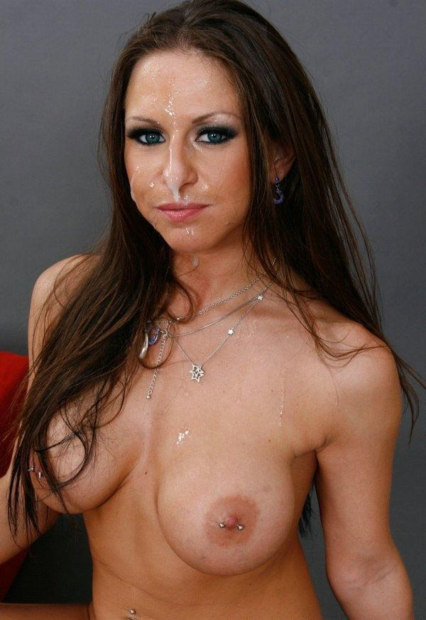 Hardcore media mierda milf facial