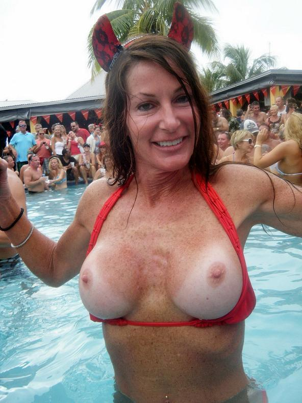 big boobs public