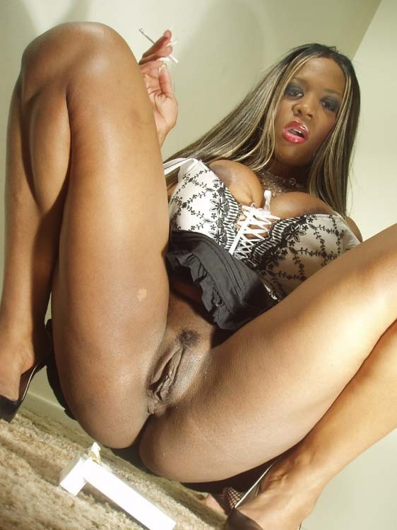 Black and ebony pussy