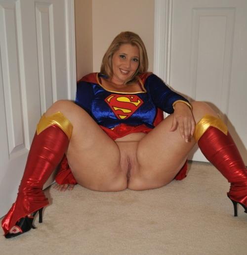Supergirl; Amateur Uniform Pussy