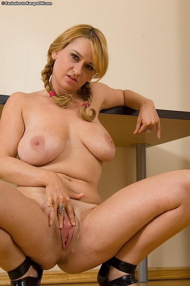 ; Big Tits Blonde Mature Milf