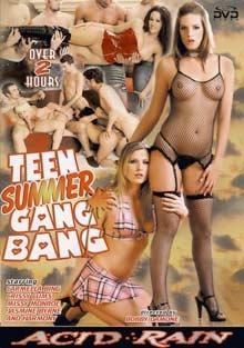 Teen Summer Gang Bang; Anal DP Teen