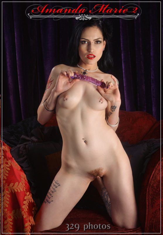 ...; Babe Brunette Hot Pierced Tattoo