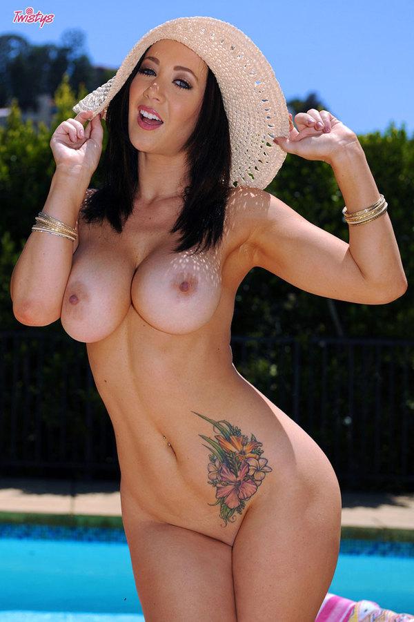 ...; Babe Big Tits Brunette Tattoo
