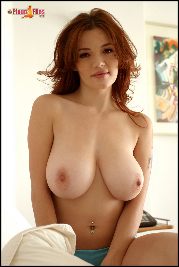 Very Big boob red heads