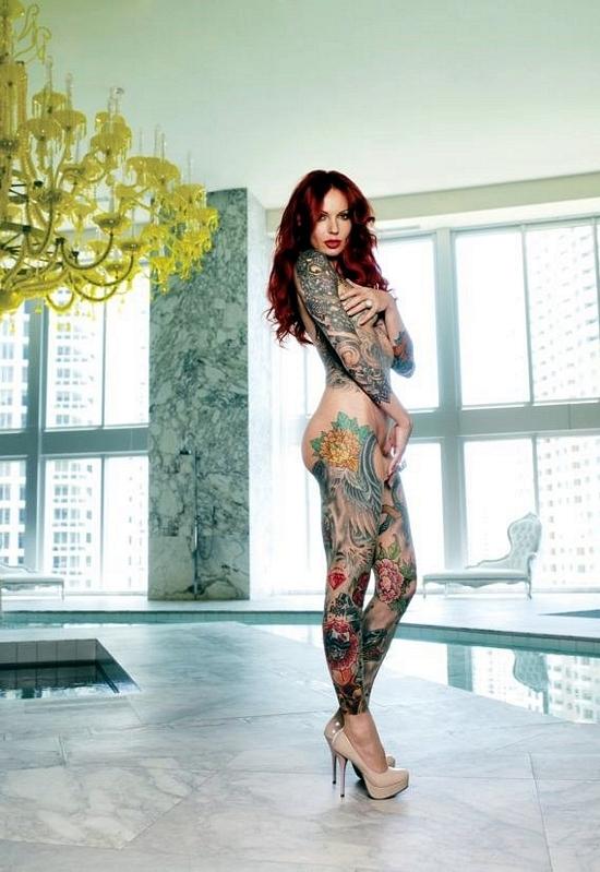 ...; Brunette Tats Tattoos